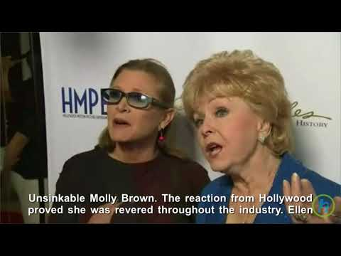 Debbie Reynolds Death Caused by Massive Stroke
