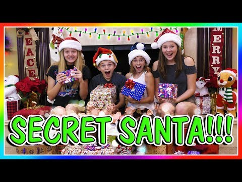 SECRET SANTA GIFT EXCHANGE with TAYLOR & VANESSA | We Are The Davises