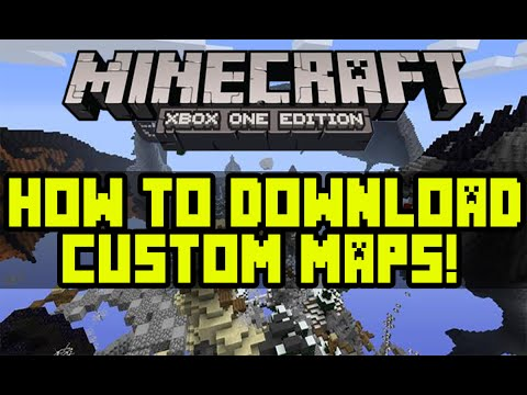 How to Download Custom Minecraft Maps To Your Xbox One!