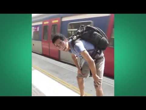 Train Jumping in Hong Kong