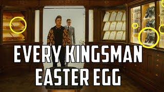 Every Easter Egg and Movie Reference in Kingsman: The Secret Service