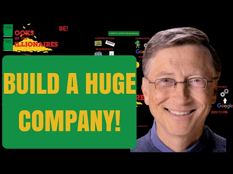 HOW TO BUILD A BUSINESS COMPANY MONOPOLY | PETER THIEL ZERO TO ONE BOOK SUMMARY REVIEW AUDIOBOOK