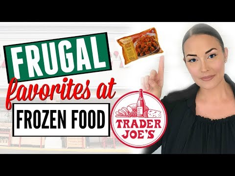 🍕EP. 1🍕 FROZEN FOOD FRUGAL FAVORITES AT TRADER JOES ● HAUL ●  WHAT TO BUY / GOOD AT TRADER JOES