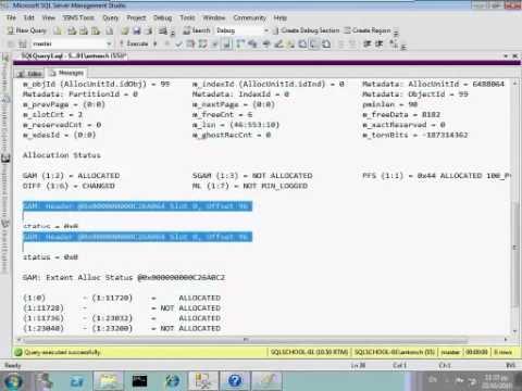 SQL Server 2008 R2 Database Architecture
