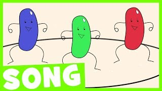 Jelly Beans Song | Simple Counting Song for Kids