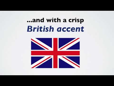 How to learn the British accent- FAST!  ✔