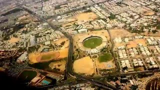 Arial View Karachi City
