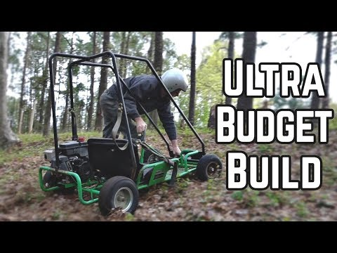 $28.25 Junkyard Kart Build and Race!