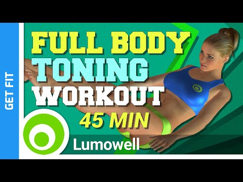 45 Minute Full-Body Toning Workout To Burn 500 Calories