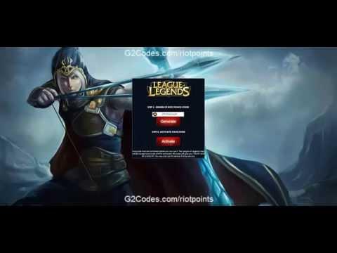 Free Riot Points League of Legends No Download
