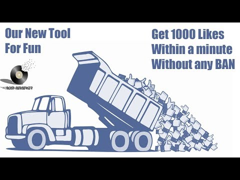 Get More than 1000 Facebook Likes In 2 minutes with out any Account Risk