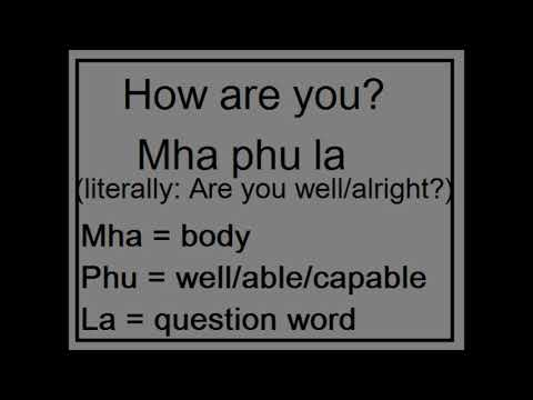 Learn Newari Language Part 1