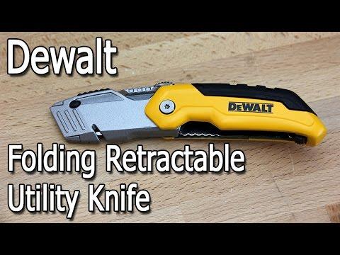 Dewalt Retractable Folding Utility Knife Review