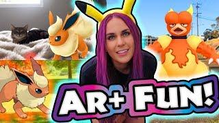 #4 -WILD! AR PLUS ADVENTURE! Pkmn Master Holly | Pokémon GO Vlog - Impersonation Series | ZoeTwoDots