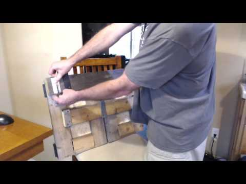 bar holder demo door video