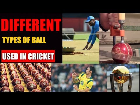 Types of balls used in cricket