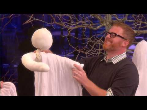 How to Make Cheesecloth Ghosts ⎢Martha Stewart