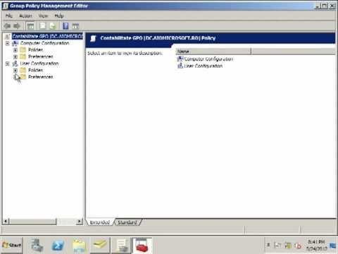 Apply Active Directory Group Policy