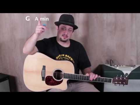 The 6 Acoustic Guitar Chords that sound great in ANY order (G, A minor, B minor, C, D E minor)