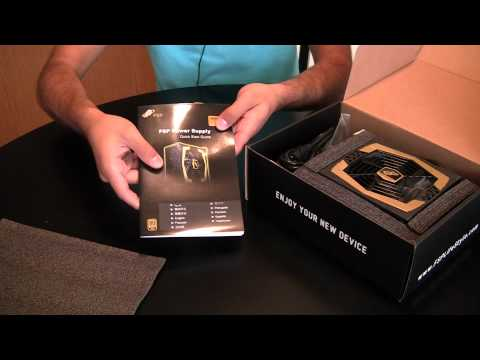 Unboxing: FSP Aurum Gold 400 ATX Power Supply