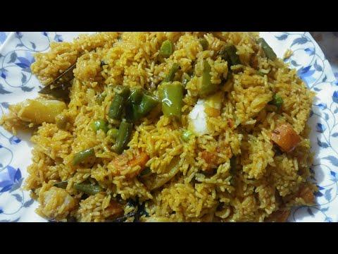 Veg Pulao I worlds no.1 veg recipe l muslim style veg pulao l cooker vegetable pulao