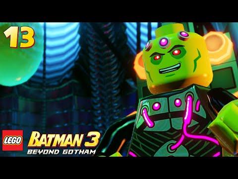 Lego Batman 3: Beyond Gotham - Walkthrough Part 13 - Brainiac Boss Fight