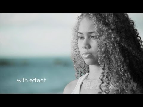 How to make a person in black-and-white with the background in color in Adobe Premiere Pro