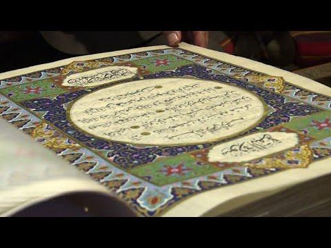 Rare silk Koran helps preserve Afghanistan's artistic past