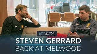Gerrard Back At Melwood With Klopp, Carol & Caroline    This Is Melwood - Presented By Betvictor