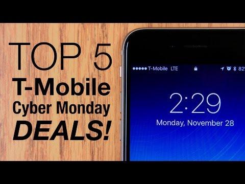 Top 5 T-Mobile Cyber Monday Deals!