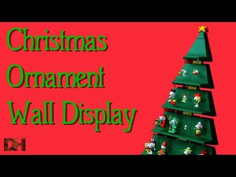 Christmas Ornament Wall Display