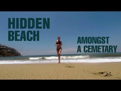 Travel Mexico: A hidden beach amongst a cemetery