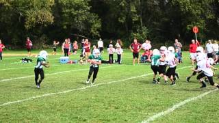 Memorial Spartans 4th Grade Football Highlights 2014