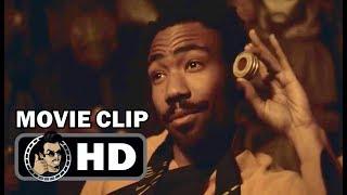 SOLO Movie Clip - Han Meets Lando (2018) Donald Glover, Alden Ehrenreich Star Wars Movie HD