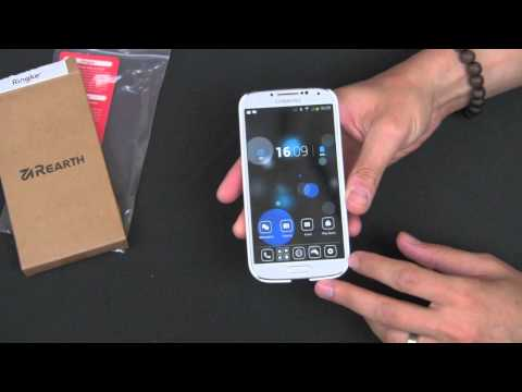 Samsung Galaxy S4 Rearth Ringke SLIM LF Premium Hard Case Review - by Gazelle.com