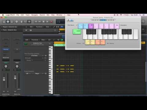 Making A Rap Beat In Logic Pro X (BEGINNERS) PART 1: Lead, Keys and Bass