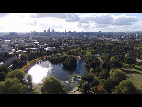 London Victoria Park 2nd October 2016 Drone Flight