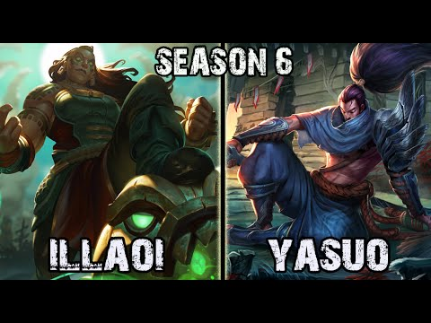 Illaoi vs Yasuo TOP Ranked Challenger NA