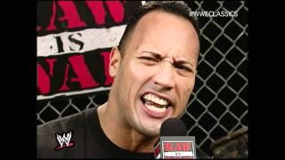 The Rock Promo Raw 12/4/00