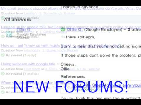 Introducing the Google Help Forums
