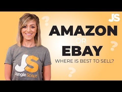 eBay vs Amazon 🥊 Where is the best place to sell?   Jungle Scout