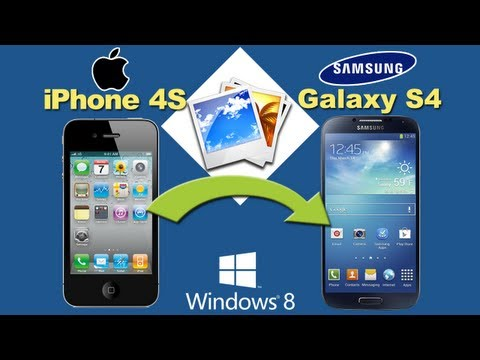 iPhone 4S to Samsung S4 [Photos Transfer]: How to Copy Pictures from iPhone 4S to Galaxy S4 Directly