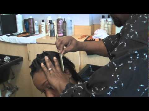 Mr. Leonardo Finger Wave On Long Hair & The No Burn Perm