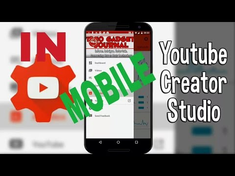 How to manage YouTube Creator studios along with Adsense from your smart phone