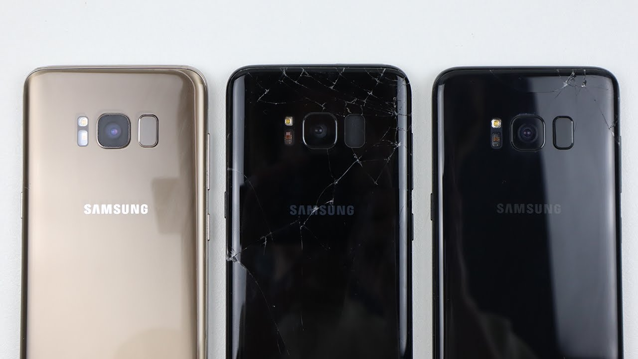 """Will they work? - $52 """"unfixable"""" Galaxy S8 LOT"""