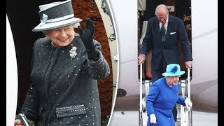 The Queen Elizabeth never travels without THESE home comforts - including Harrods
