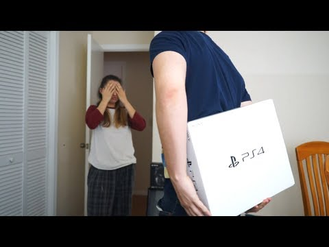 Surprising My Girlfriend With A PS4!!!