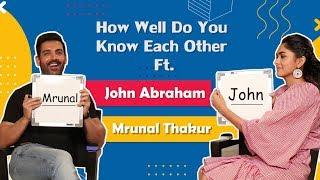 John Abraham & Mrunal Thakur