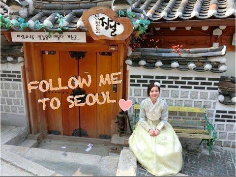 Follow me to Korea 2017 | Seoul: Myeongdong, Dongdaemun, Hongdae & Namsan