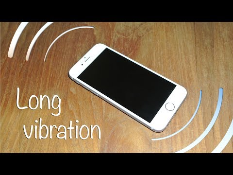 iPhone 6 long vibration sound effect stereo HQ 96kHz